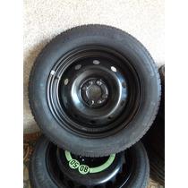 Roda Ferro Fumagalli 4x98 + Pneu Pirelli P1 195/55/15 Novo
