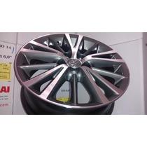 Jogo Roda Aro 16 Toyota Corolla Xei 2016+porcas+bicos