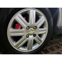 Jogo 04 Tampas Centrais Rodas Ford Focus Ghia 04-07 R15