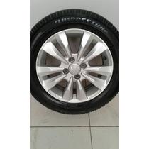 Roda Honda City Fit Com Pneu Bridgestone