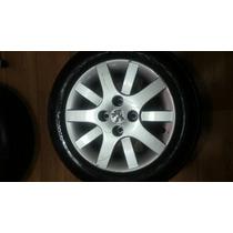 Roda Peugeot 207 Pneu No Estado,h