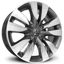 Roda Peugeot 307 Aro 15 - Grafite Diamantado