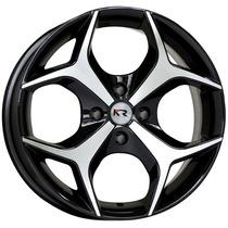 Roda Krmai K18 Aro 15 Black Diamantada