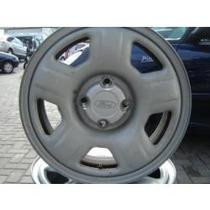 Roda Ferro Aro 15 Eco Sport Prata 4x108 Peugeot Citroen