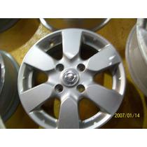 Rodas Nissan Tiida Ou Livina Aro 15 Original R$490,00 Uni