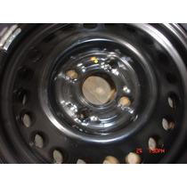 Roda De Ferro Nissan Livina Aro 15