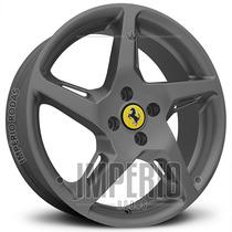 Roda Ferrari 458 Italia Aro 15 - Grafite Fosco