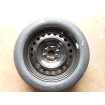 Roda Com Pneu Estepe Aro 16 Fiat - 4 Furos