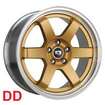 Jogo De Rodas K57 Aro 17x8,0 4 E 5 Furos Gm Hyundai Honda