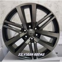 Jogo De Roda Krmai R72 Toyota Hilux Sw4 2016 / 2017 Aro 17