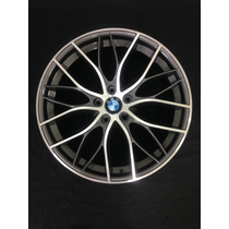 Roda Aro 17 Bmw 335 Bi Turbo- (r54) Grafite Diamantado