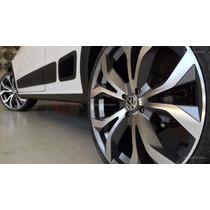 Jg Roda Audi A6 Rs6 Aro 17 4 Ou 5 Furos Gol Gol Onix+pneu