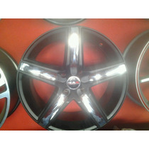 Roda Aro 17 Tsw Mak Italy Variant 4x108 Jogo Preta Fosca Jog
