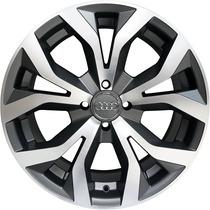 Roda Audi Rs6 2012 Aro 18 Grafite Diamantada Fosca