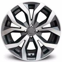 Roda Audi Rs6 Aro 17 4 Ou 5 Furos - Grafite Diamantada Fosca