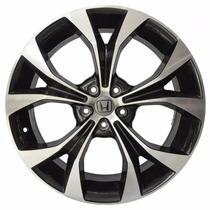 Roda Aro 17 Honda New Civic - Preta Diamantada - 5x114,3