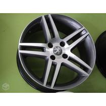 Roda Peugeot 308 Thp Aro 17 Citroen C4 Xsara+pneus