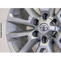 Roda Toyota Hilux 2016 Aro 17x7,0 Prata R68 Krmai