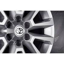 Roda Toyota Hilux 2016 Aro 17x7,0 Grafite Diamantada R68