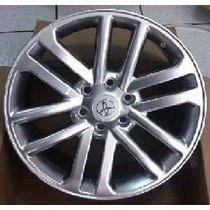 Jogo Roda Aro 17 Toyota Hilux 6x139,7 Prata - Krmai R37