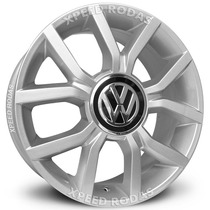 Roda Vw Up Krmai R50 Aro 17 - 4x100 - Prata
