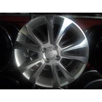 04 Rodas Replicas Chevrolet Onix/prisma Aro 17 4x100 Novas