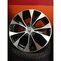 Roda Honda New Civic Aro 17 Original Preta C/ Diamantado