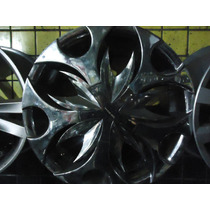 Rodas Aro 17 Cromada 4x100 Vw-gm Nova So Vendo Jogo
