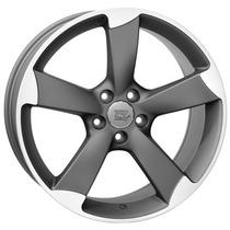 Jogo De Rodas Réplica Audi Rs5 18x8 Diamond M. Graphite Bie
