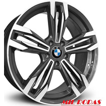 Roda Aro 18 Bmw M6 Gran Coupe - Grafite Diamantada 5x120
