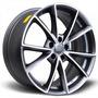 Jogo De Rodas Réplica Audi Rs4 19x8,5 Diamond M.graphite Bie