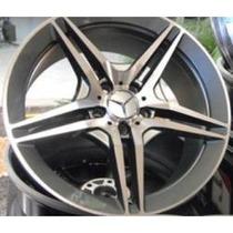 Roda Mercedes 282 Aro 18x8.5 Furação 5x112 Et40 Mg Jogo