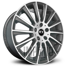 Roda Mercedes C63 Amg Aro 20 - Grafite Diamantado