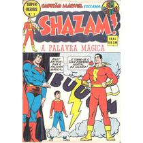 Shazam! - Super-heróis - 17 Edições - Completo - Ebal