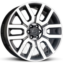 Roda Nissan Frontier Aro 20 - Grafite Diamantado