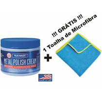 Polidor Americano Metal Blue Magic 200 Gr Limpa Pule Protege