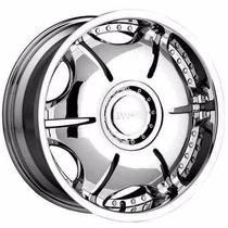 Roda Aro22 Cromada 6x139
