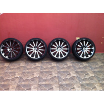 Roda Tsuya Cromo Black