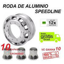 Roda De Alumínio Caminhão Aro 22,5 X 8,5 Speedline