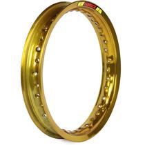 Aro Traseiro De Moto 14 X 1.85 Pop 100 2007 A 2015 - Dourado