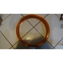 Aro Alumínio Motard Spm 3,00x17 Dourado Tipo Viper