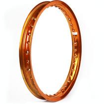 Aro Dianteiro E Traseiro 18 X 1.85 Dourado Titan Fan Cg Ybr