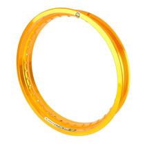 Aro Roda Alumínio (un) 2.50 X 18 - Dourado Brilho Monaco