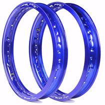 Aro Motard Viper 18 X 1.85 E 18 X 2.15 - Azul