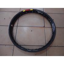 Aro Roda Dianteiro Aluminio Preto Fabreck Titan (160 X 18)