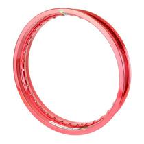 Aro Roda Alumínio (un) 2.50 X 17 - Vermelho Brilho Monaco