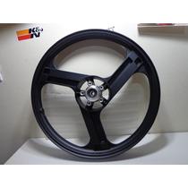 Rodas Aluminio Diant/tras Três Pontas Preto Cg 150 Esd