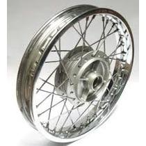 Roda Traseira Honda Biz 100/125 Cubo/raio/aro