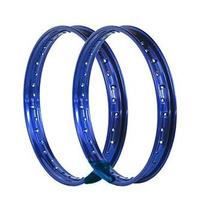 Aro Roda Largo 18x215 Azul (par) Titan Fan Ybr Factor Max Rd