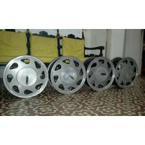 Jogo De Roda Aluminio Liga Leve